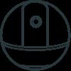 360 Indoor Camera Ezviz compatible Nearsens black and white Icon