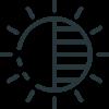 Nearsens Keypad icon black
