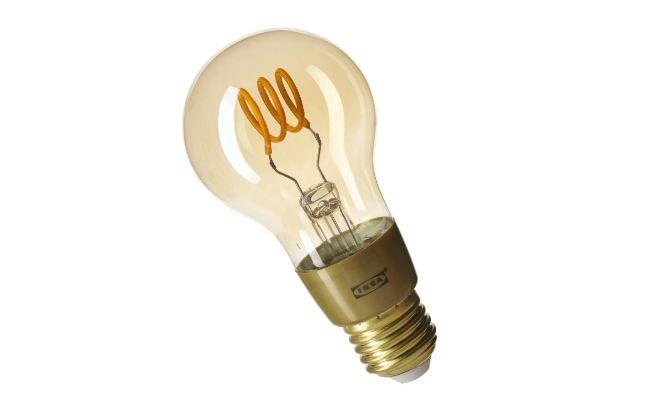 IKEA Smart light Orange filament bulb compatible with Nearsens