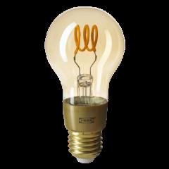 Connected bulb orange filament
