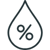 Nearsens Humidity black Icon