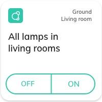 Nearsens app all lamps tile
