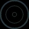 Nearsens smoke sensor icon black