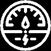 Nearsens app power consumption white icon